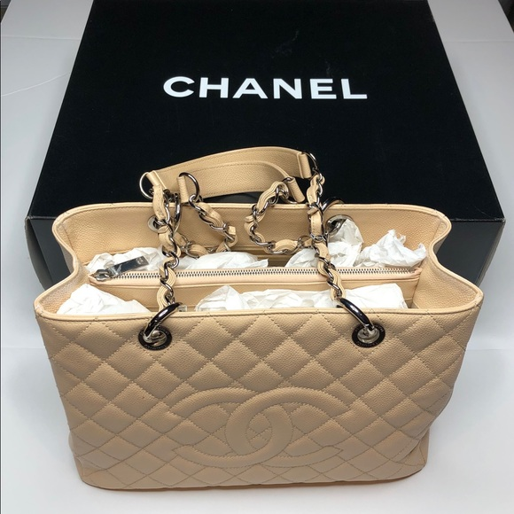 b4cb5700e779d3 CHANEL Bags | Sold Caviar Grand Shopping Tote Sold | Poshmark